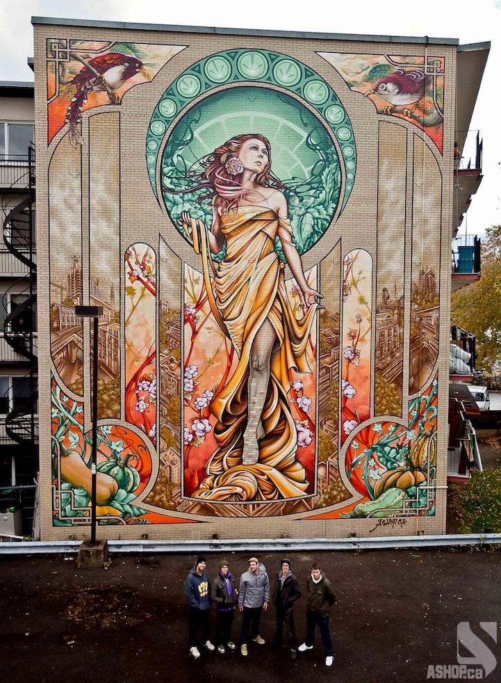 4 Inspiring Murals Around the World | Meridian Blog