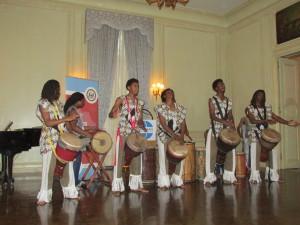 Performing group Farafina Kan