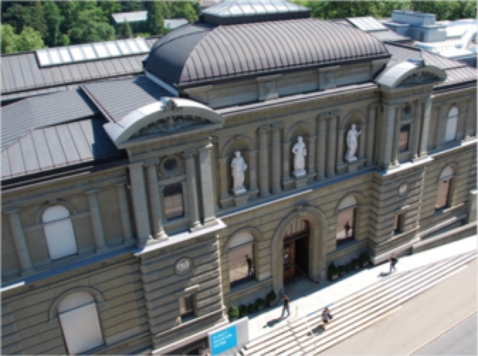A view of the Kunstmuseum Bern, which has obtained the Gurlitt collection of Nazi-era art.