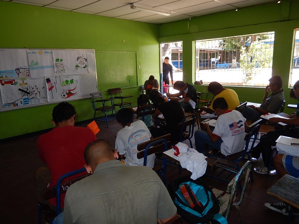 Program participants during our workshop.