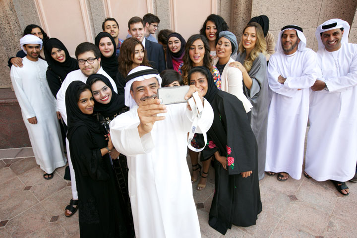 Participants of the Emirates Film Competition FilmMakers Award/ Courtesy of Abu Dhabi Film Festival.