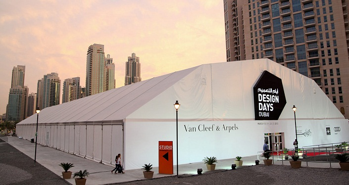 Design Days Dubai 2014 was located at Downtown Dubai/Courtesy of Best Design Events.