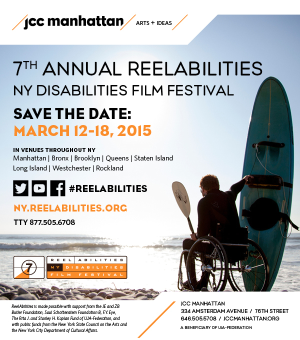 ReelAbilities Film Festival flyer. Courtesy of ReelAbilities.
