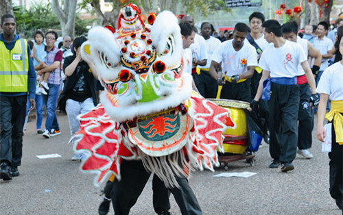 Chinese New Year celebrations in Chinatown, Johannesburg/Courtesy of Chinafrica.cn