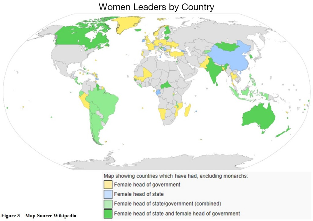 Women Leaders by Country