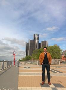 Javier in Detroit