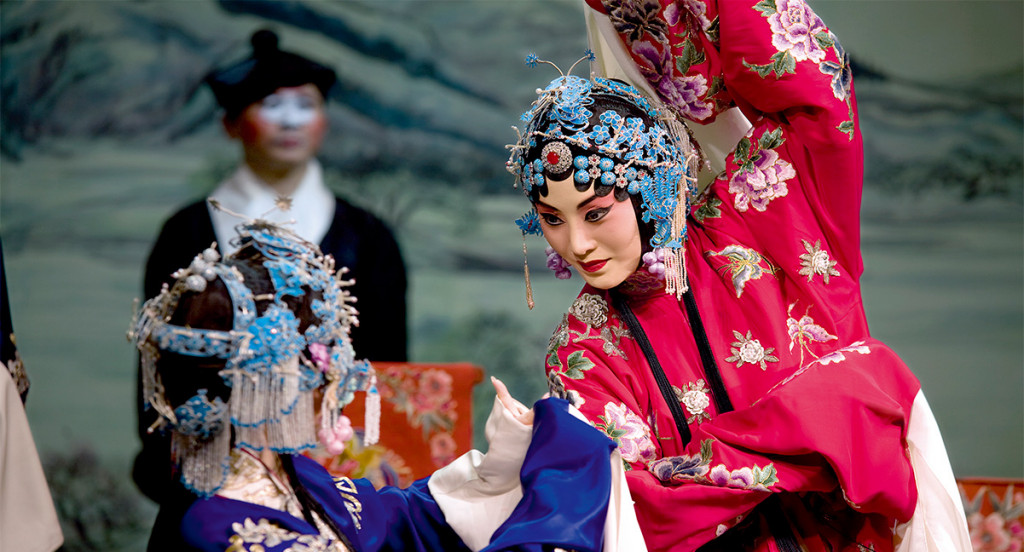 Zhang Huoding made her U.S. debut in the Legend of the White Snake at David H. Koch Theater, Lincoln Center.