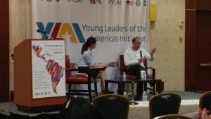 YLAI Fellow, Iluske Vieira, interviews Ben Rhodes.