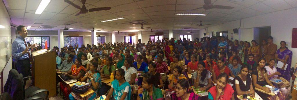 Brian Katulis presentation at the Shankar IAS Academy in Chennai