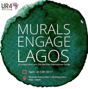 Mural Engage Lagos UR4 Africa Logo
