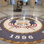 Seal of the Great State of Utah in the Capitol Building