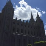 The Mormon Temple on a clear day