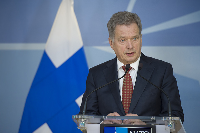 Finnish President Sauli Niinistö (Photo Credit - NATO)