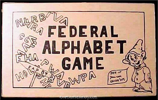 Federal Alphabet Game