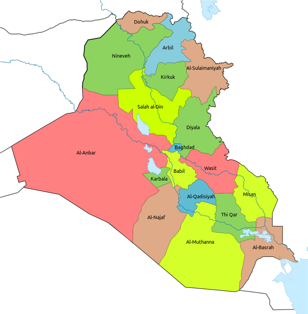 Iraqi_Provinces