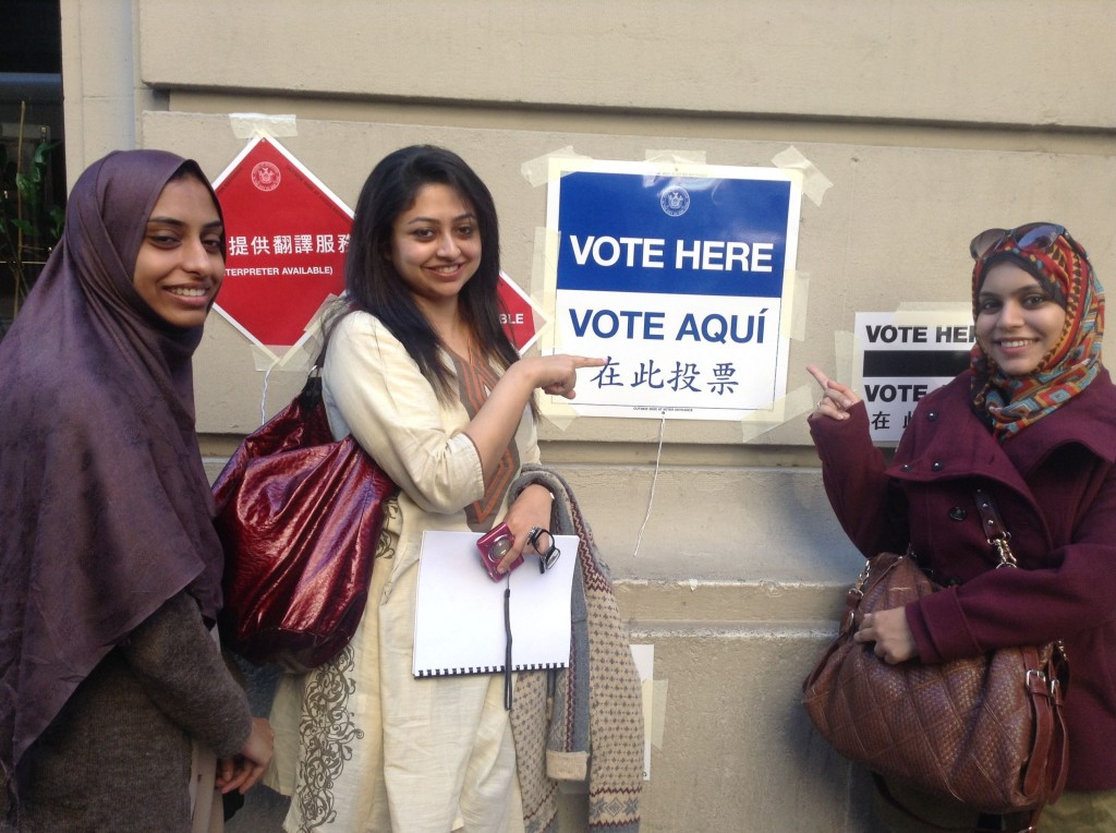 Pakistan Found Where to Vote in NYC