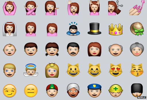 The current Emoji keyboard includes few ethnicities.