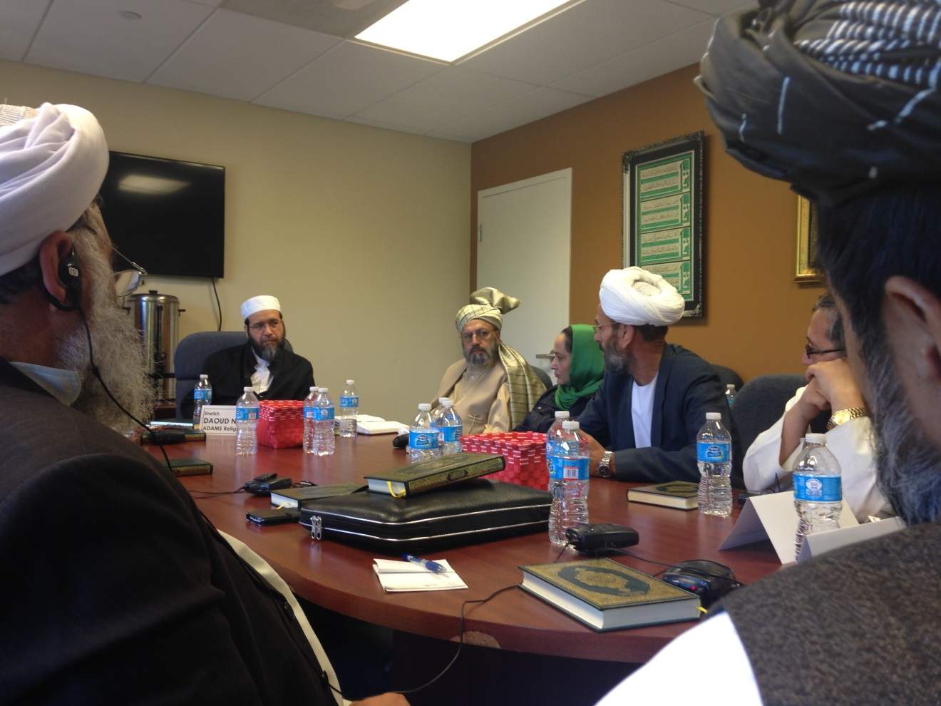 Afghan Traditional Leaders Discover America | Meridian Blog