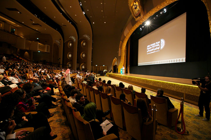 Closing ceremony at Emirates Palace Abu Dhabi 2014/Courtesy of Abu Dhabi Film Festival.