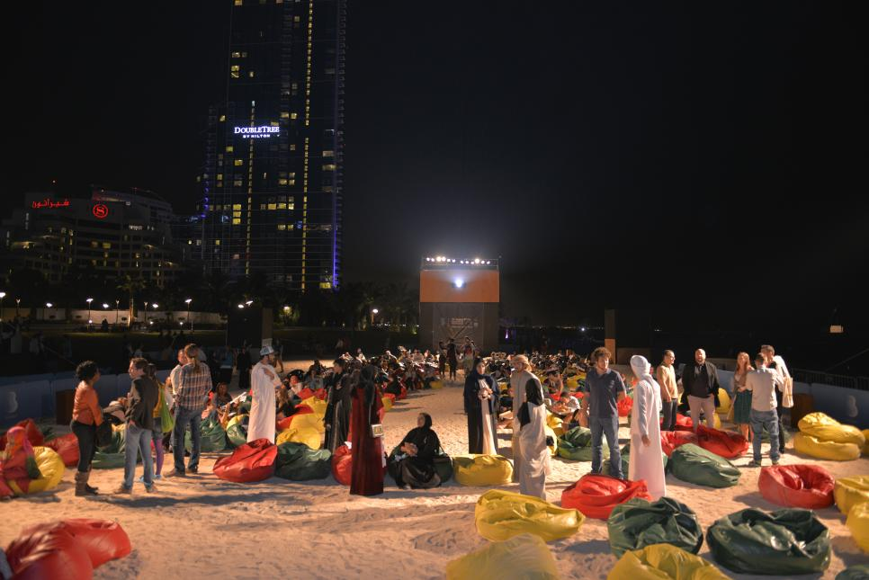 the Beach #MyDubai' is an opportunity for amateur filmmakers to join H.H. Sheikh Hamdan's #MyDubai initiative by sharing their story of life in Dubai, part of the Film Festival /Courtesy of Dubai International Film Festival