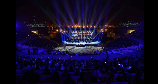 The 2014 Music Festival in Sharjah hosted Kadim Al Sahir, one of the pioneer artists in the Arab region/Courtesy of Music Nation.