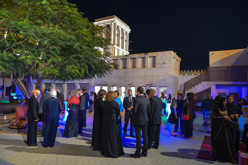 Opening ceremony of the Ras Al Khaimah Fine Arts Festival 2014/Courtesy of Ras Al Khaimah Fine Arts Festival.