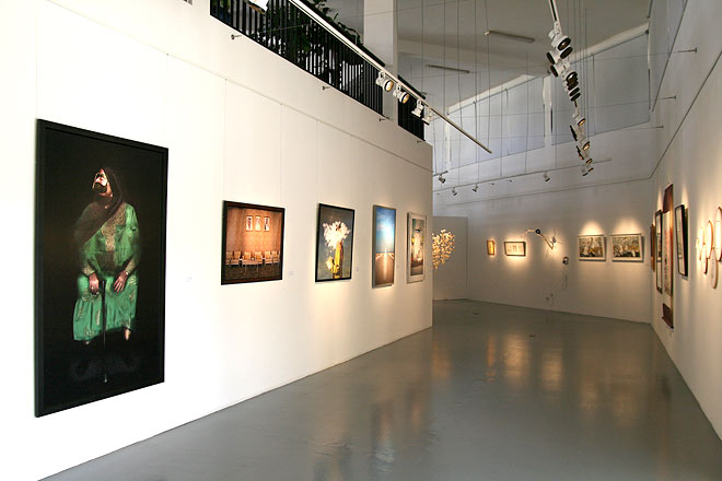 The exhibition As the Saying Goes (2011), which showcased artworks inspired by Emirati proverbs/Courtesy of Tashkeel.
