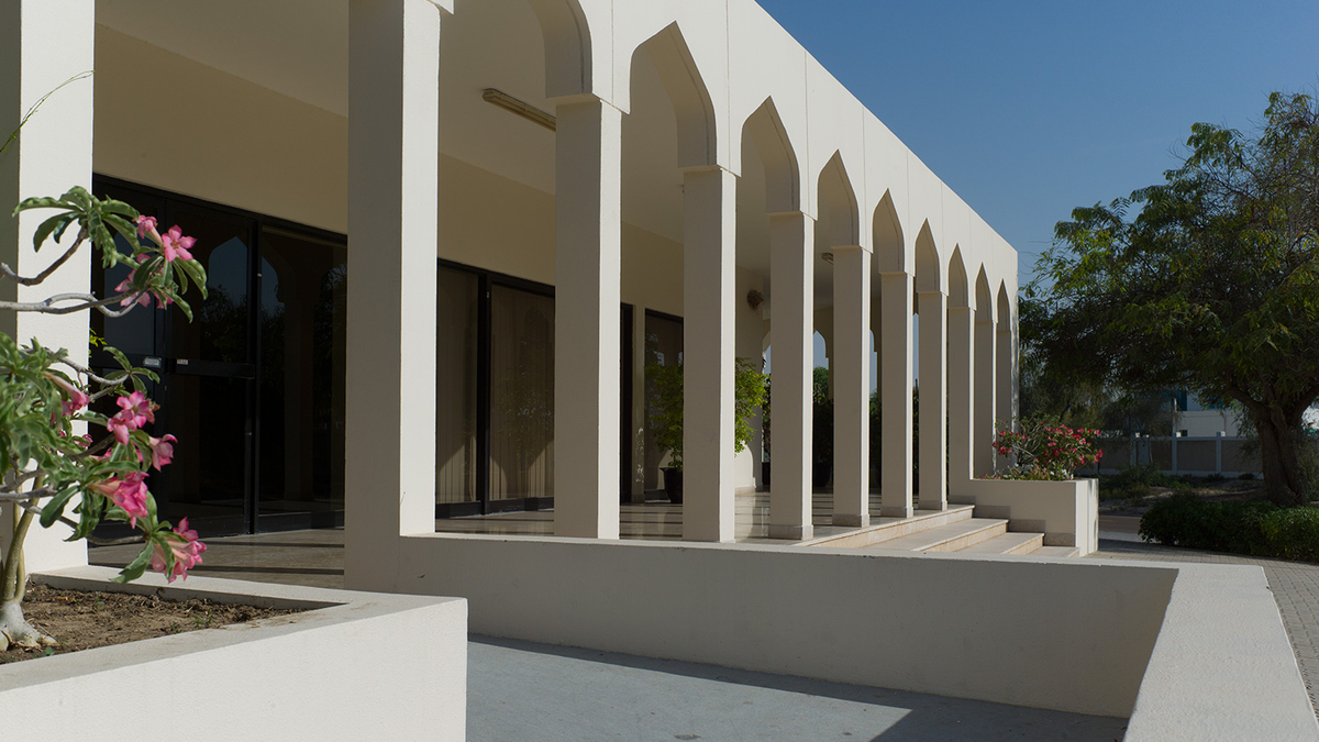 The Nad Al Sheba Gallery in Dubai/Courtesy of Tashkeel.