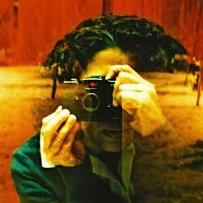 Self-portrait (lomography) by Hind Mezaina/Courtesy of Hind Mezaina.