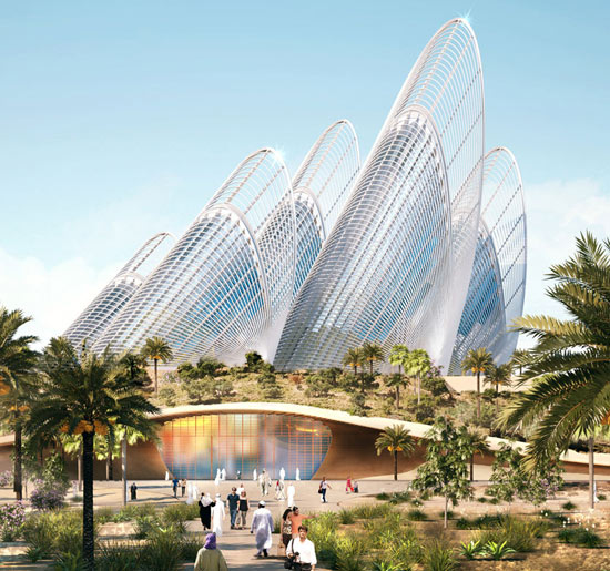 Zayed National Museum will be surrounded by a beautiful garden where landscaping and installations will explore key moments in the life of Sheikh Zayed and his transformation of the UAE/Courtesy of Saadiyat Cultural District.