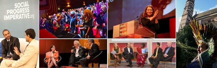 Scenes from the 12th Skoll World Forum On Social Entrepreneurship/Courtesy of Skollworldforum.org
