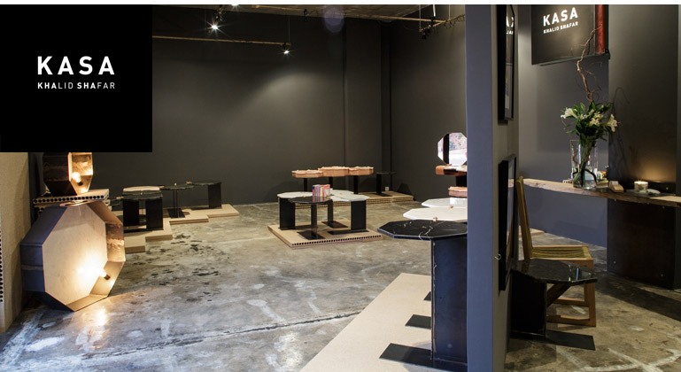 Khalid Shafar's KASA showroom in Dubai/Courtesy of KASA.