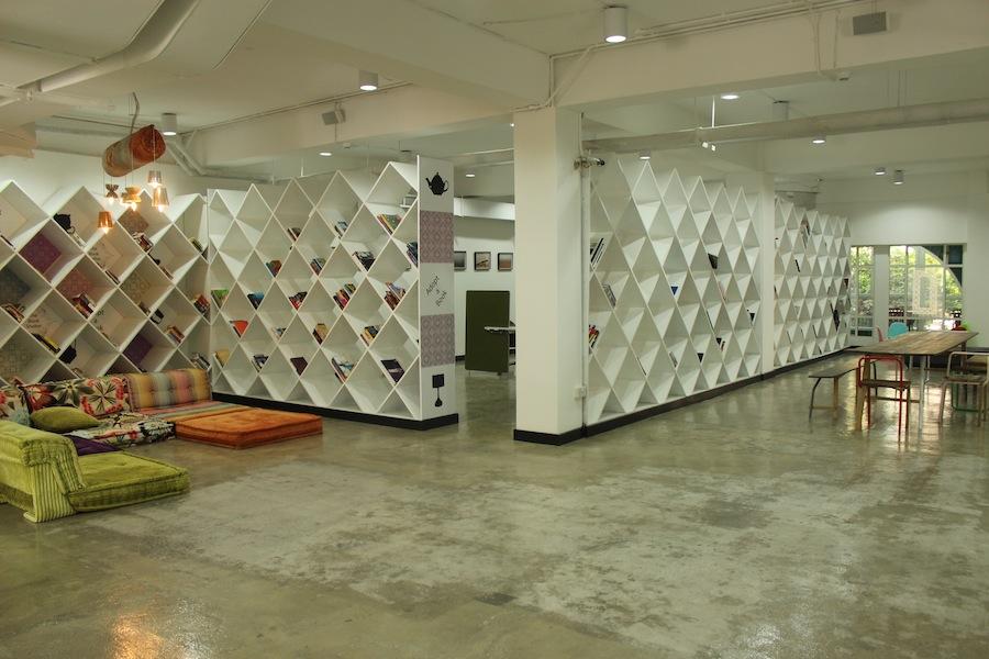First level of the facility that houses the Maraya community space/Courtesy of Maraya.
