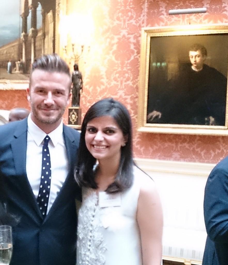 I got to meet David Beckham!