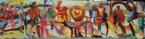 Kinshasa - mural