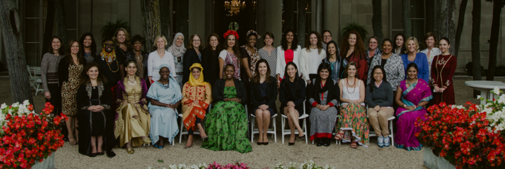Now in its fourth year, the Global Sports Mentoring Program matches 16 young women leaders with mentors from the U.S. to develop strategic action plans to create sports opportunities for women and girls around the world.