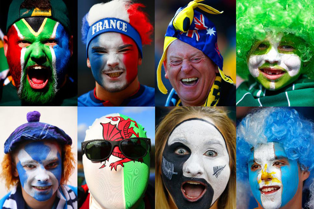 More than two million fans flocked to the United Kingdom this month to cheer on their favorite rugby team.