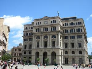 Old Chamber of Commerce Building, in Havana, Cuba