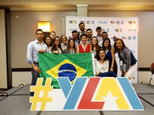 Brazilian YLAI Fellows at the Opening