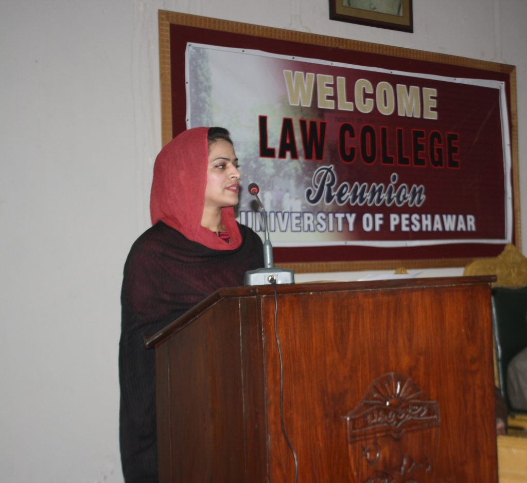 Professor Hina Ellaudin Addresses Peshawar University Colleagues on Intellectual Property Law