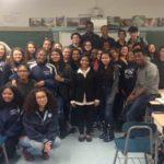Sharmin Meets with U.S. High Schoolers