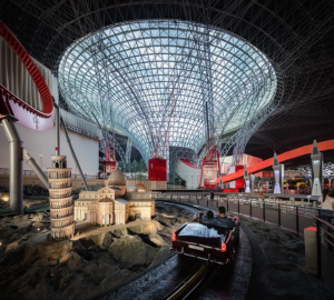 Ferrari World amusement park