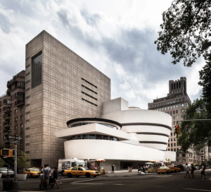Guggenheim Museum in New York City, by Frank Lloyd Wright (1959). Photo ©Darren Bradley